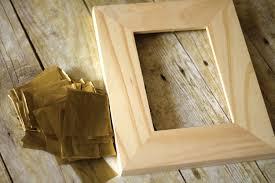 decoupage wood diy frame tutorial darice 11