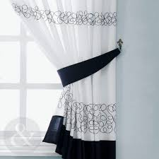 white kitchen curtains cottage gingham window treatments black and striped purple