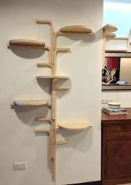 cat tree bookcase wall mounted cat tree shelves for cats best climbs via stairs cubes corner cat tree bookcase real wood corner