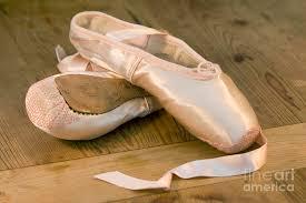 ballet shoes. artist photograph - ballet shoes by jane rix