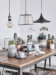 industrial style hängeleuchten aus metall bringen rustikales loft feeling ins esszimmer style tipp