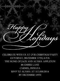 Holiday Party Invitation | Free Invitation Ideas