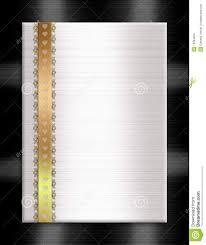 Formal Invitation Template Formal Invitation Template Gold Black White Stock Illustration 18