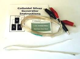 8x silver colloidal silver generator with 2 ft of 999 fine silver 24 gal