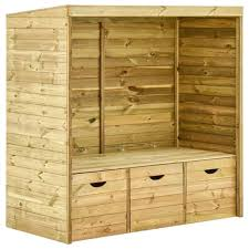 drawers 170 cm solid pinewood