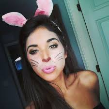 image result for bunny costume makeup