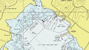 Introduction To Nautical Charts What Replaced Fathom Charts