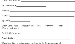 Credit Card Authorization Form Word Credit Card Receipt Template Word Credit Card Receipt Form Credit