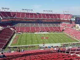 Raymond James Stadium Section 333 Tampa Bay Buccaneers