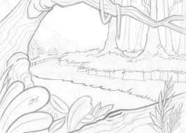 Small Picture Epic Scenery Coloring Pages 44 On Gallery Coloring Ideas With