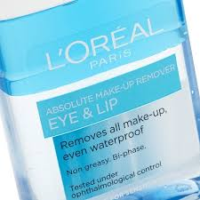 l oreal paris absolute make up remover eye lip 125ml previous next