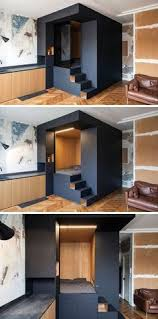 office design for small spaces. A Custom Designed Bedroom Box Was Added To This Small Apartment Office Design For Spaces