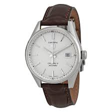 tag heuer carrera automatic silver dial men s watch war211b