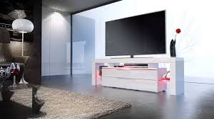 Tv Stand Lima Nova White High Gloss Various Color Fronts