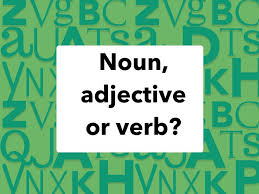 There are several different parts of speech, which are categories of types of words. Noun Verb Or Adjective Free Activities Online For Kids In 1st Grade By Adriana