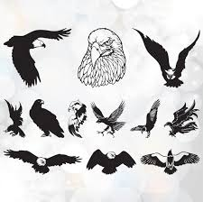 bald eagle template american bald eagle svg file pack eagles svg file cutting