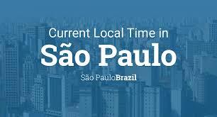Receber informações sobre produtos e serviços da folha de s. Current Local Time In Sao Paulo Sao Paulo Brazil