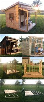 Wood Pallet House How To Build A Cubby House From Reclaimed Fence Palings Http