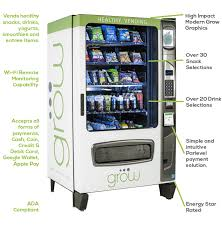 Modern Vending Machines Enchanting Financing Grow Healthy Vending