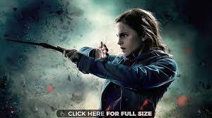 hermione harry potter and the ly hallows part 2 wallpaper