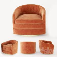 milo baughman swivel tub chairs for thayer coggin