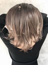 バレイヤージュカラーで圧倒的透明感を 髪 色2019 ヘアスタイル