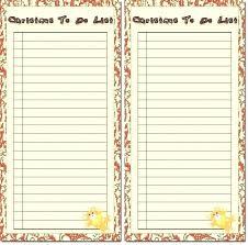 Checklist Sheet Template To Do List Blank Slipcc Co