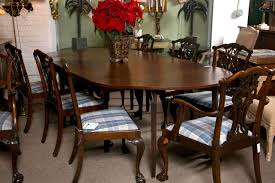 Chippendale Dining Room Table Set Of Eight Chippendale Dining Chairs With Ball And Claw Feet For