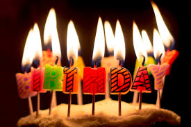Birthday Cake With Candles Gif Happy Photo Images Free Slice Of