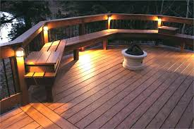 outdoor deck lighting ideas pictures lake rail light intended for lights idea string on railing ar