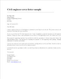 Free Civil Engineering Resume Cover Letter Templates At