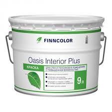 <b>Краска в/д FINNCOLOR</b> Oasis Interior Plus база А 9 л