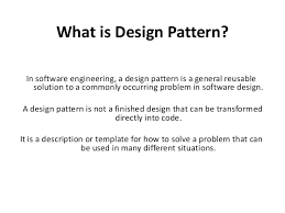 What Is Design Pattern Cool Design Pattern In Software Engineering