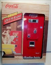 Coca Cola Vending Machine Radio Custom CocaCola '48 Style Vending Machine Radio SOLD Item Number 48