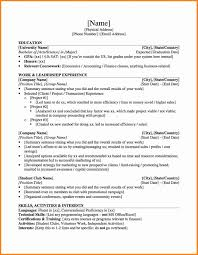 Investment Banking Resume Template Latter Example Template