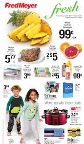the new fred meyer ad started yesterday sunday january 8th and runs through saay january 14th as always make sure to check out fred meyer s