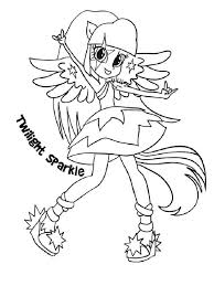 Equestria Girls Coloring Pages Download And Print Equestria Girls
