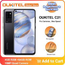 "<b>OUKITEL C21</b> 6.4"" FHD+ 4GB 64GB <b>Android 10.0</b> Helio P60 Octa ..."