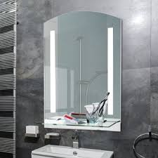 bathroom wall mirrors. Simple Bathroom Wall Mounted LED Illuminated Bathroom Mirror Throughout Mirrors 9