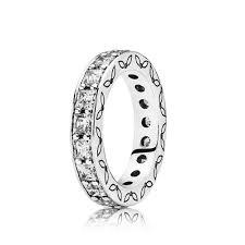 infinity ring pandora. infinity stackable ring, clear cz ring pandora