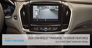2018 chevrolet traverse interior. simple interior valley chevy in phoenix 2018 chevrolet traverse interior feature   touchscreen display throughout chevrolet traverse interior