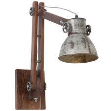 Verstelbare Industriële Wandlamp Alium Staal Industriele Lampen Online