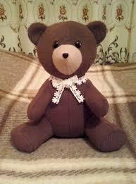Teddy Bear Sewing Pattern Stunning Teddy Bear Sewing Pattern 48 Madetomeasure Sewing Pattern
