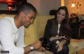 فسخ خطوبة اللاعب السعودي نايف هزازي والمطربة بلقيس - ليالينا