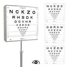 Etdrs Chart How To Use Precision Vision Etdrs Illuminator Cabinet Kit Mandarin