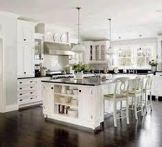 White Kitchen Dark Floors 30 White Kitchen Backsplash Ideas Backsplash Colors White