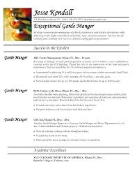 Professional Chef Resume Sample Culinary Examples Example Executive
