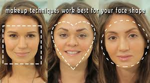 makeup according to your face shape