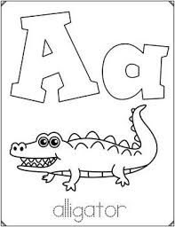 Easy peasy alphabet coloring book. Alphabet Coloring Sheets Abc Posters In 2020 Abc Poster Math Center Activities Alphabet Coloring