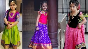 Indian Baby Girl Lehenga Designs Beautiful Kids Lehenga Designs Ideas Lehenga Designs For Girls South Indian Lehenga For Kids